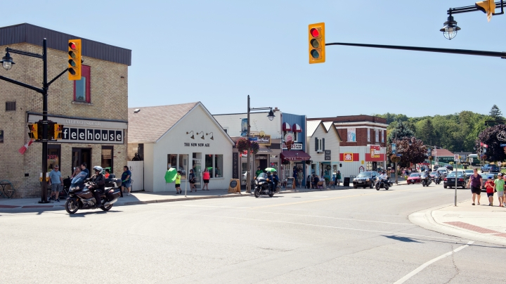 Downtown Port Stanley