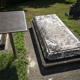 Colonel Thomas Talbot's Grave Site